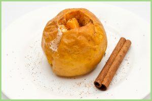 Buñuelos de manzana y canela