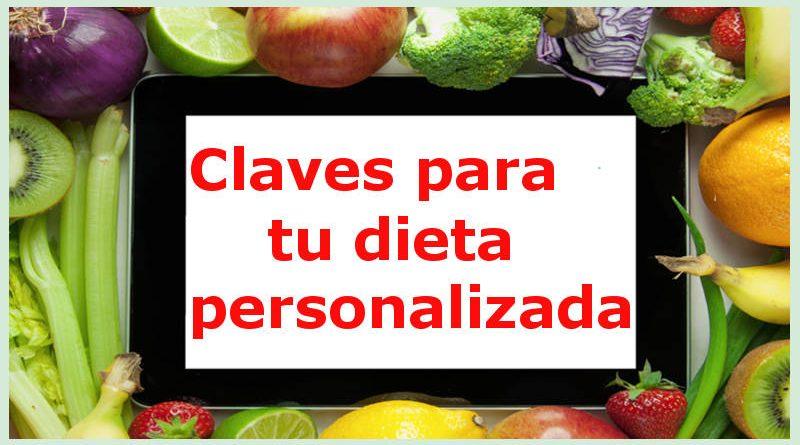 claves dieta personalizada