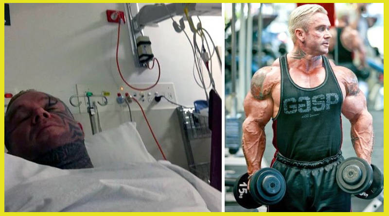 Lee Priest abandona el hospital