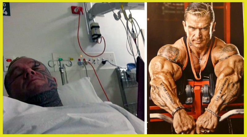 lee priest hospitalizado