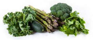verdura de hoja verde oscura