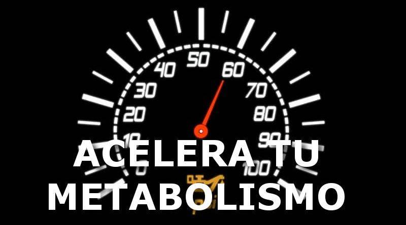 formas de aumentar el metabolismo
