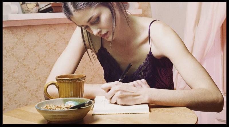 Escribe lo que comes