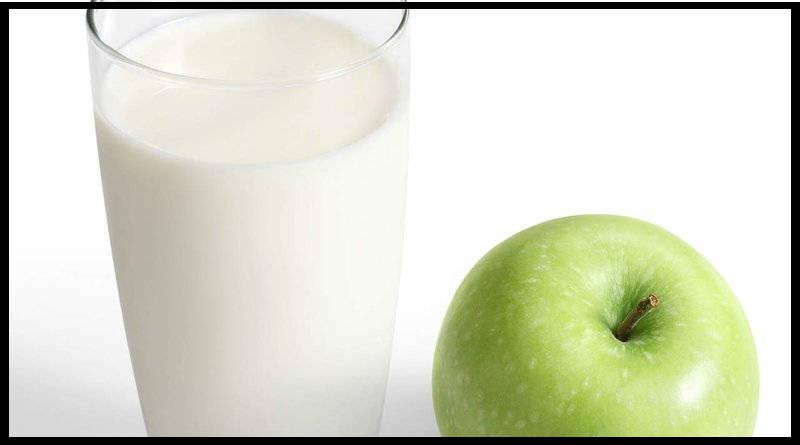Pareja de proteínas y frutas