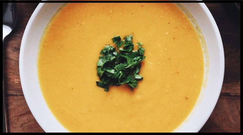 Toma sopa antes de tu sándwich