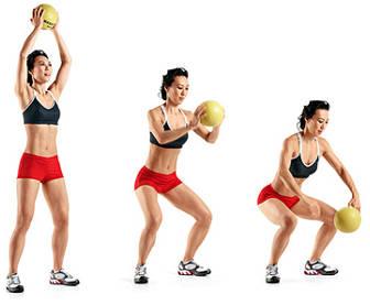 ejercicios brazos ball slam