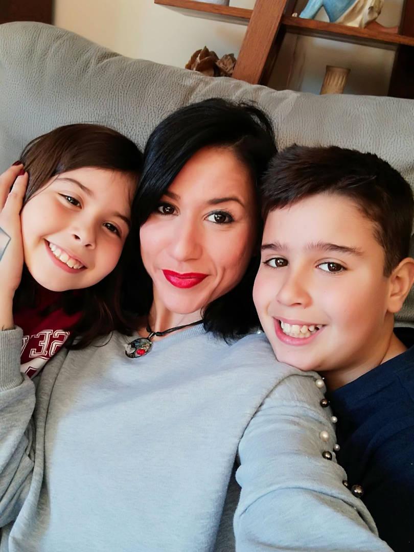 Laura López hijos