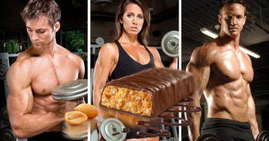 barritas de proteinas