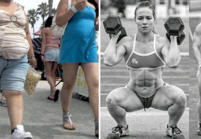 el aumento de músculo y la pérdida de grasa