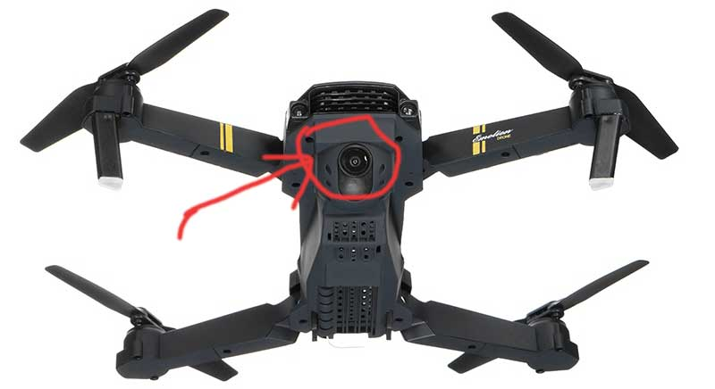 cámara El mejor Drone barato