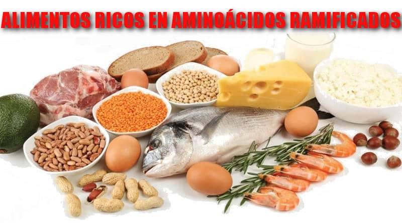 alimentos ricos en aminoácidos ramificados
