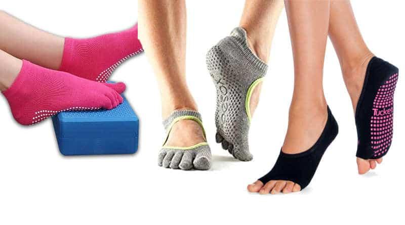 mejores calcetines de yoga