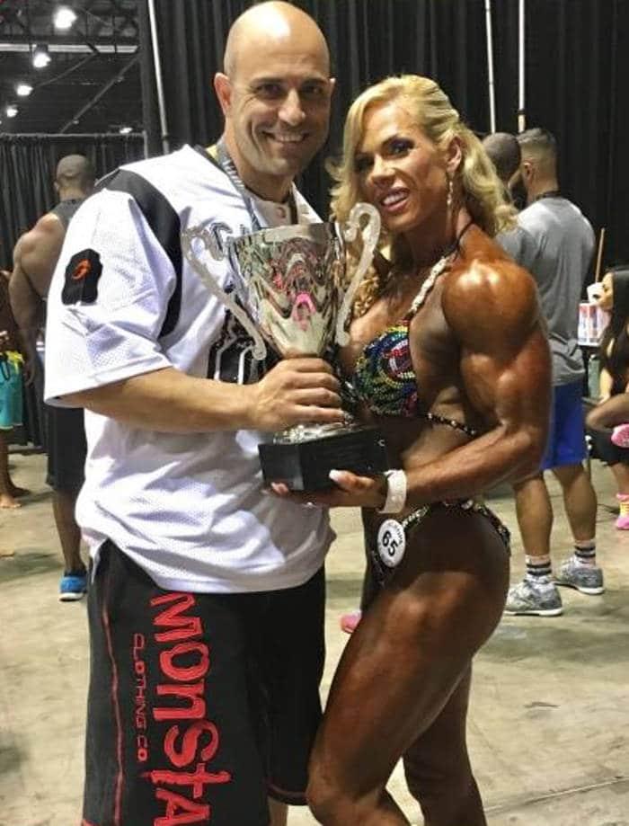 Joanna Romano y Mario Leal