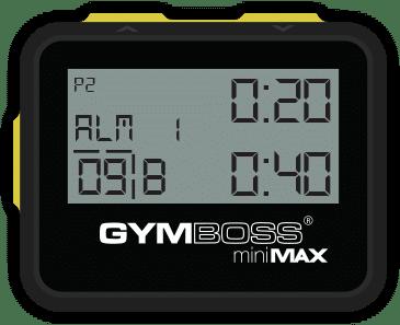 Gymboss timer minmax
